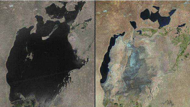 Sabias que o cultivo de algodão secou o Mar de Aral?