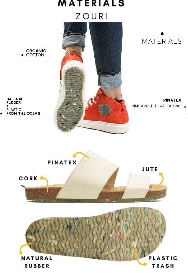 Zouri Shoes Plastic