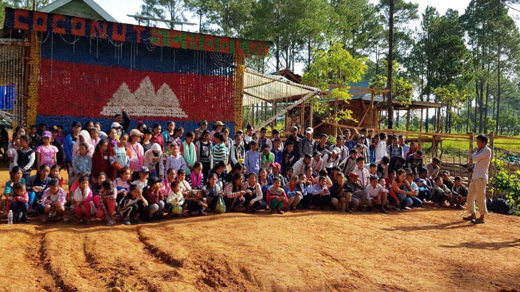 Cocunut School Cambodja
