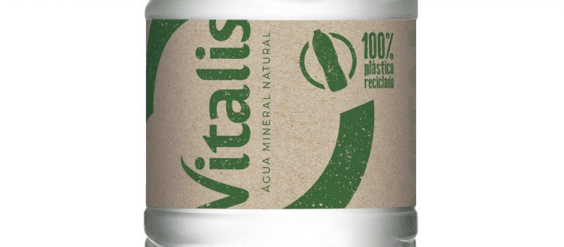 Vitalis Garrafas 100% recicladas